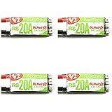 BangBang 4X Racerstar RS20A V2 New 20A Blheli_S OPTO 2-4S ESC Support Oneshot42 Multishot 16.5 Dshot600