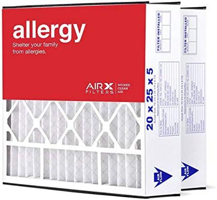 [해외]AIRx Filters 20x25x5 MERV 11 HVAC AC Furnace Air Filter Replacement for Air Bear Trion 255649-102 229990-102 Allergy 2-Pack Made in the USA / AIRx Filters 20x25x5 MERV 11 HVAC AC Furnace Air Filter Replacement for Air Bear Trion 25...