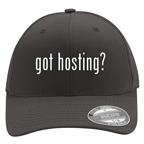 got Hosting? - Men's Flexfit Baseball Cap Hat, Dark Grey, Large/X-Large