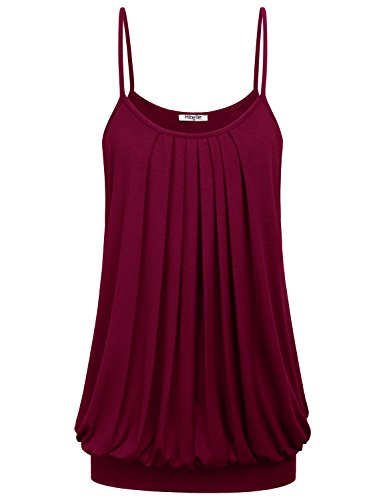 Juniors tops hibelle 39 s boutique clothing pleated banded for Boutique tops