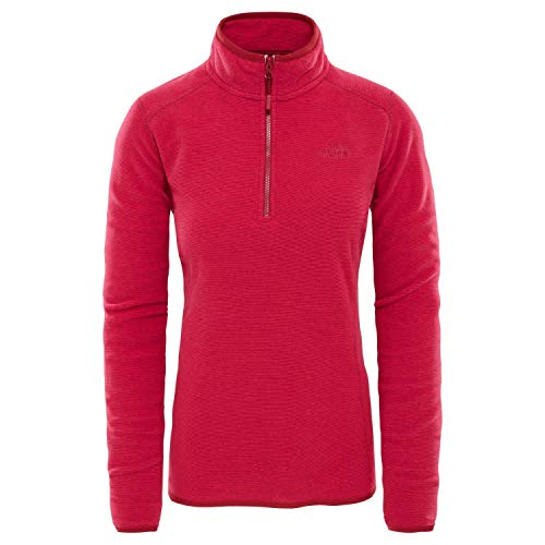 Face 100 Red Pull W Zp 1 4 ceris The North Glacier Rumba Femme 51q4xZ1n