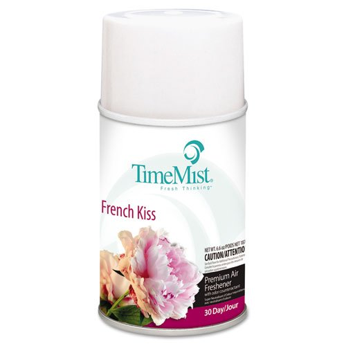 TimeMist Metered Fragrance Dispenser Refill, French Kiss 6.6 Ounce Aerosol Can (334709TMCA)