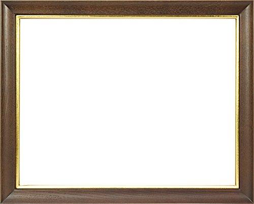 同志舎 油彩用額縁 キュート アクリル仕様 壁用フック付 (F4, 茶) B01M4RTHPP F4|茶 茶 F4