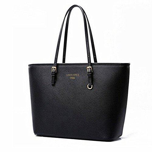 LI&HI Damen fashion elegant Leder Beutel shopper bag Umhängetaschen Schulterbeutel Abendtaschen Clutch