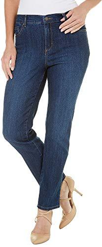 (Gloria Vanderbilt Women's Petite Amanda-Classic Straight Leg Jean, Scottsdale Wash, 4P)