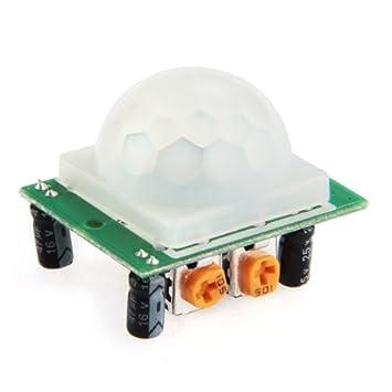 Colemeter - Módulo de sensor para detección de movimiento infrarrojo Arduino CC 5 – 20 V
