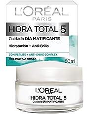 L'Oreal Paris Crema Hidratante, Piel Mixta Hidra Total5, 50 ml