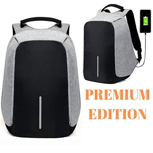 iDen Sekai Anti-Theft Travel Backpack 2019 (Black)