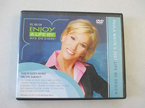 Yes, You Can Enjoy a Life By His Design Bu Paula White 2007( Set of 8 Dvd)