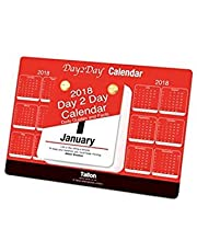 2018 Day To Day Desk Top Stand Up Tear Off Block Calendar