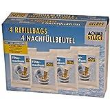 Aqua Select Lot de 4 sachets de granules de rechange pour filtre à eau