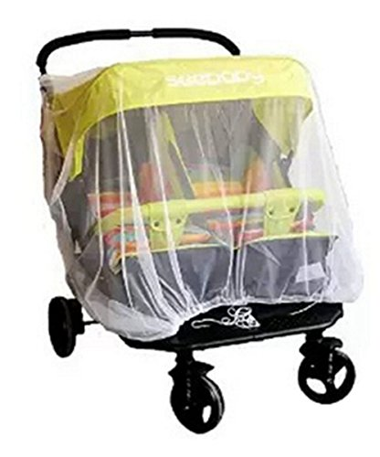 Mosquito Net for Twins Baby Stroller Infant Carriers Car Seats, Inch, Portable Durable Baby Insect Netting for Summer by BERTERI