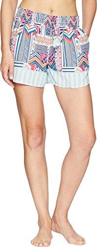 Vera Bradley Women's Pajama Shorts Patchwork Bouquet (Vera Bradley Patchwork)