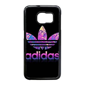 Samsung Galaxy S6 Edge Cell Phone Case Black adidas logo KG4529860