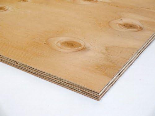 針葉樹合板(構造用合板) 厚み12mm JAS F☆☆☆☆ 棚板・コンパネ (900×900mm)