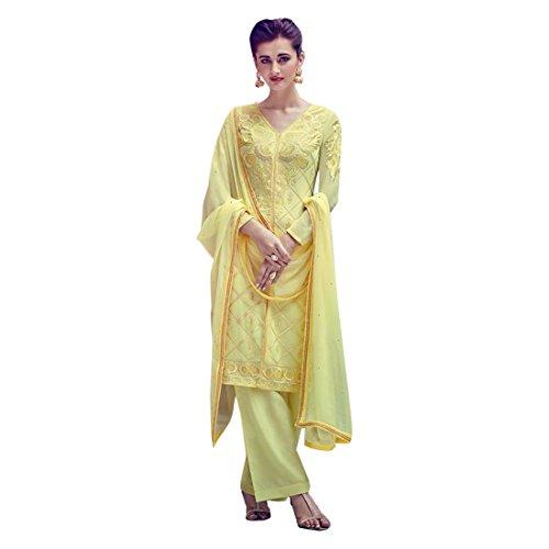 Bollywood Formal Salwar Kameez Trouser Custom to Measure Muslim Eid Indian Ethnic 2802 (Trouser Kameez)