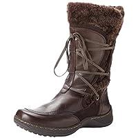 BareTraps Women's Eloquent Snow Boot,Dark Brown,6.5 M US