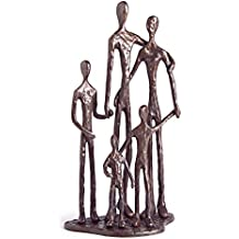 Danya B. ZD11021 Family of Five Bronze Sculpture