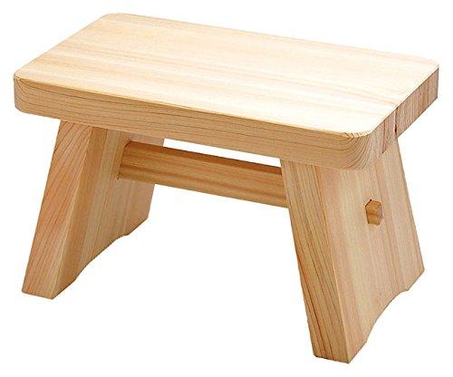 Bath Chair of Japanese Cypress(Hinoki) Bath Goods Large
