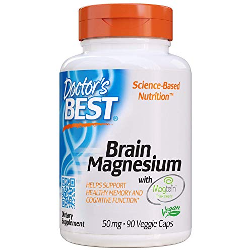 Doctor's Best Brain Magnesium, Non-GMO, Vegan, Gluten Free, Soy Free 50 mg, 90 Veggie Caps (Most Challenging Thing About Being A Manager)