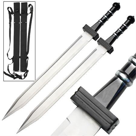 Double Trouble Greek Gladius Twin Short Sword Set