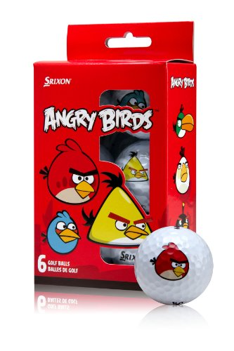 Srixon Angry Birds Golf Balls, Outdoor Stuffs