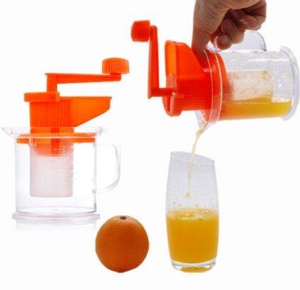 Compra Máquina de Leche de Soja Manual Mini Citrus Jugo Fabricante Naranja Limón Fruta Press Extractor de Exprimidor Portátil Multi-Función Socialme-EU en ...