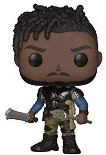 - Funko Pop! Marvel: Black Panther Movie-Erik Killmonger (Styles May Vary) Collectible Figure