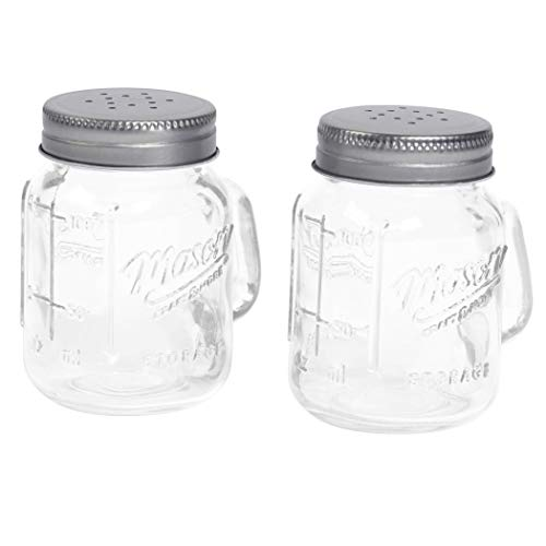 (Mason Jar Salt and Pepper Shaker)