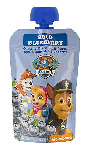 PawPatrol - (Super Strawberry, Really Raspberry, Mighty Mango, Bold Blueberry) USDA Organic, BPA Free, Fruit Squeeze Pouch | Pack of 40 Total by PawPatrol (Image #3)