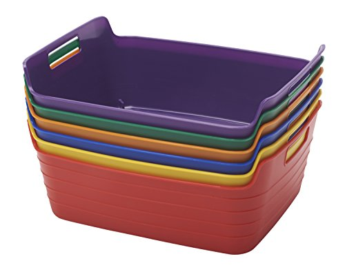 plastic storage bins with handles - 2