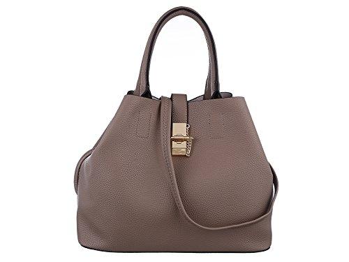 Valentine's Sale TZECHO Women Top Handle Satchel Handbags,Zip Closure Tote Shoulder Bag,TZA022