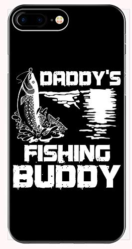 Funny Fisherman - Daddy's Fishing Buddy - Hook Reel Bait Line Cast Humor - Phone Case for iPhone 6+, 6S+, 7+, 8+