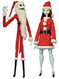 Diamond Select Toys The Nightmare Before Christmas: Santa Jack & Santa Sally Coffin Doll Set