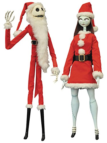 Finkelstein Sally Costume (Diamond Select Toys The Nightmare Before Christmas: Santa Jack & Santa Sally Coffin Doll)