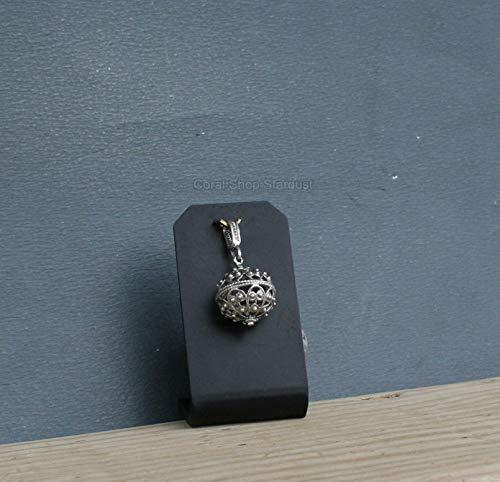 Dubrovnik Filigree Ball Pendant, Silver Chain Necklace, Filigree Necklace Croatian Filigree Pendant *Exp ()