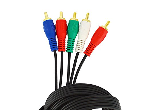 Sewell Component Video Cable , Black, 10 ft.