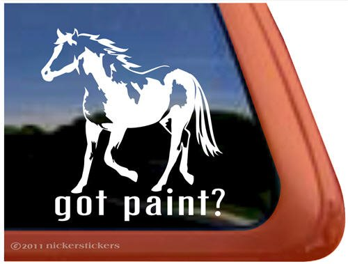 Paint American Trailer Window Sticker