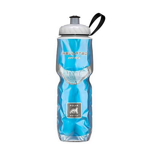 Polar Bottle Insulated Water Bottle - 24 oz, Solid Blue