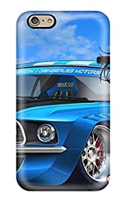 Boy And Racer Car Cartoon Case Compatible With Iphone 6/ Hot Protection Case by icecream design