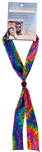 Arctic Cooling Bandana Neck Coolers Neck Cooling Scarf - Tie Dye