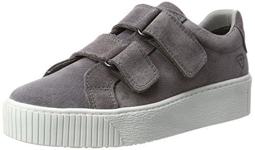24661, Zapatillas Mujer, Gris (Grey 200), 40 EU Tamaris
