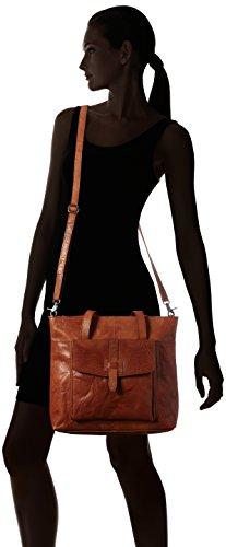 Spikes & Sparrow Zip Bag - Ganchos para bolsos Mujer Marrón (Brandy)