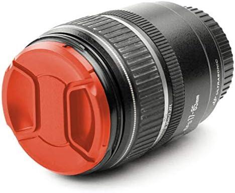 Avant Snap-on: Pincement Central Couvercle Capot de Protection CELLONIC Capuchon dobjectif /Ø 67mm Compatible avec Fuji Fujinon XF 16mm F1.4 R WR Fujinon XF 18-135mm F3.5-5.6 R LM OIS WR