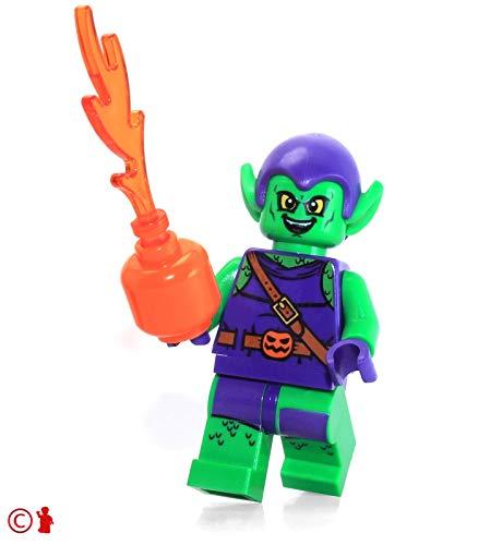 (LEGO Super Heroes: Spider-Man Minifigure - Green Goblin (with Pumpkin Shooter) 10687)