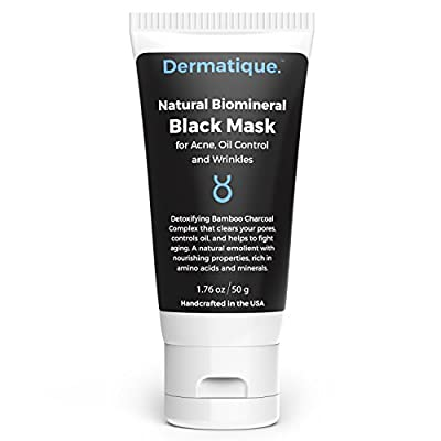 Dermatique Purifying Black Mask - Peel-Off Mask - Activated Charcoal, Deep Pore Cleanse for Acne, Oil Control, and Anti-Aging Wrinkle Reduction …