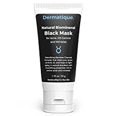 Dermatique Purifying Black Mask - Peel-Off Mask - Activated Charcoal, Deep Pore Cleanse for Acne, Oil Control, and Anti-Aging Wrinkle Reduction