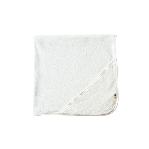 Burt's Bees Baby Bee Essentials Organic Single Ply Hooded Towel