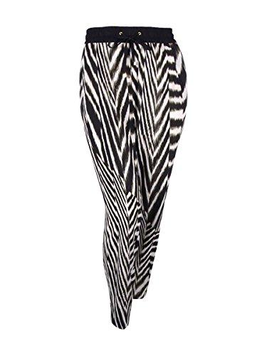 Calvin Klein Women's Zebra Prints Dressed Pants (2x, Zebra)