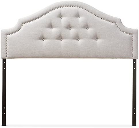 Baxton Studio Franchot Modern Contemporary Fabric Upholstered Headboard